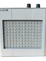 35W Color Changing LED Stage Light 108 Lights Metal