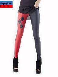 cmfc ®women s smala svarta och röda utskrifts leggings Bodycon sexiga sport byxor kvinnliga koreanska stil casual byxor