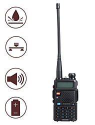 "BAOFENG UV5R 1.5"" LCD 5W 136~174MHz / 400~480MHz Dual Band Walkie Talkie with 1-LED Flashlight (US Plug)"