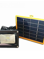 N850 Solar 3 W Cool White Waterproof/Rechargeable LED Solar Floodlights