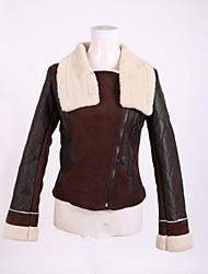Women's Turn Down Collar Casual Slim Jacket