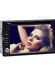 Autoradio DVD android4.4 2 din 6.2 inchgps / RDS / SWC / 3G (WCDMA) / wifi / subwoofer per Nissan