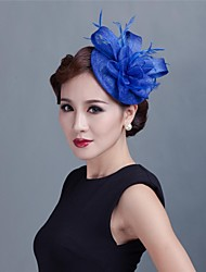Women Wedding Party Sinamay Feather Fascinators SFC12187