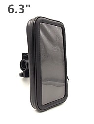 "Motorcycles and Bicycles 6.3"" Mobile Phone Waterproof Bag Bracket Sleeve Bag For Samsung I9200 and Same Size Products"