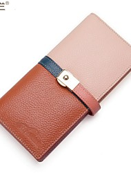 Women Formal/Sports/Casual/Event/Party PU/Cowhide/Patent Leather/Other Leather Type Button Wallets