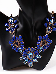 Colorful day  Women's European and American fashion necklace-0526154