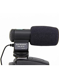 Mic-109 High Sensitive Mini Stereo Microphone for Camera with 3.5mm Jack Adapter