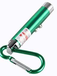 Portachiavi - di Lega alluminio - Puntatore laser rosso
