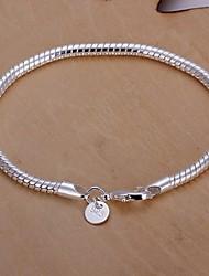 Homme Chaînes & Bracelets Plaqué argent Original Mode Serpent Bijoux Bijoux 1pc