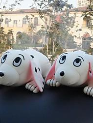 casa ambientador&coche de bambú del bolso paquete de carbón (muñeca perro manchado) 2pcs
