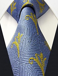 Men Casual Neck Tie,Silk Print
