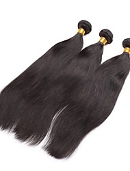 Brazilian Virgin Hair Natural colour 3Pcs 14Inch Straight Hair Weaving 100% Human Hair