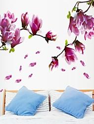 окружающей среды фиолетовый цветок магнолии в форме стикер стены