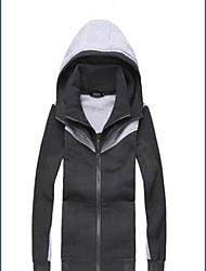 don de causalité de la mode manteau à capuche cardigan