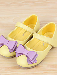 Girls' Shoes Casual Comfort Toe Leather Flats Shoes More Colors available