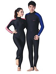 LS-704 UPF 50+ Lycra Diving Skin Suits Anti-UV Wear Swim Snorkeling Surf Water-ski  1 piece Full body For Men Women