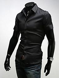 Hugo Men's Casual Shirt Collar Short Sleeve Casual Shirts
