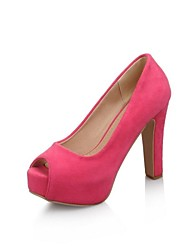 Women's Shoes  Platform Chunky Heel Pumps Shoes More Colors available