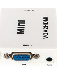 MIni VGA+Audio to HDMI Converter