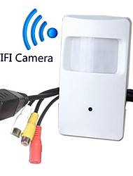 720P WIFI Pir Motion Detector Audio Video Camera PIR Shape WiFi Camera PIR IP Camera for 1.0 Megapixel(Free Pickup)