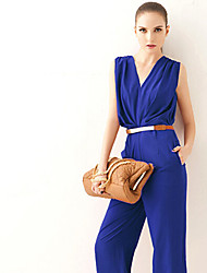 Aimee Women's Fashion V Neck Elegant Suits