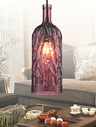 Pendentif maishang®, 1 lumière, le style italie galvanoplastie transparente