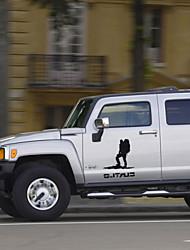 adesivos de carro com cross-country estilo do carro