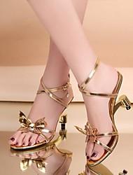 Sandálias ( Dourado ) - MULHERES Saltos Altos/Slingback - N/D - Courino