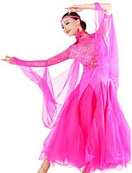 elegante vestido de dança de salão da mulher dancewear salão de baile (mais cores)