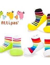 Attipas Lightweight Colorful Spring Summer Baby Girls Boys Infant Shoes Anti-slide First Walker Rainbow Toddler Shoes