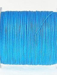 300M / 330 Yards Ligne tissée PE / Dyneema Ligne de Pêche Bleu 80LB 70LB 60LB 50LB 0.37mm,0.40mm,0.45mm mm PourPêche en mer Pêche à la
