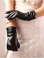 leather gloves for women