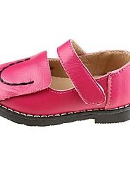 Chaussures bébé Mariage/Extérieur/Robe/Informel Poil de veau Ballerines Rose/Blanc