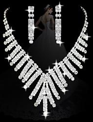 insiemi delle donne moda diamante lampadario: collana e orecchini (processo di vendita, di magazzino: 4)