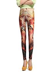 Women Others Medium Print Legging