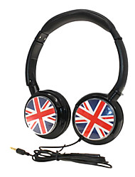 YongLe® EX10A Hi-Fi iPhone 6 iPhone 6 Plus Stereo  Earphones for  MIC / British flag