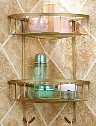 Antique Antique Copper Wall Mounted Bathroom Shelves