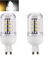 1pcs G9 / E14 / E27 SMD 3528 1152lm bianco caldo / freddo lampadine bianco mais 220V AC
