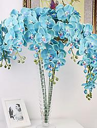 """40 """"lang Stoff Schmetterling ochird von 10 blaue Farbe gesetzt"""