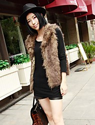 Women's Autumn And Winter Fur Vest Jacket