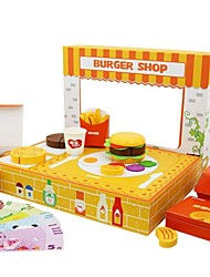 benho magasin d'hamburger rôle de l'éducation joue la mère de jouets et de produits pour bébés