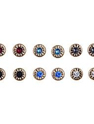 Earring Stud Earrings / Earrings Set Jewelry Women Wedding / Party / Daily / Casual / Sports Alloy / Acrylic 12pcs
