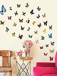 Environmental Removable Colorful Butterfly Wall Sticker