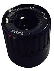 Vigilancia cctv 6mm 3.0MP cs cs lente de la cámara