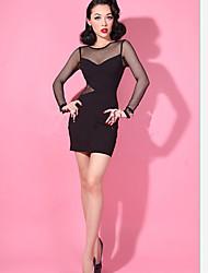 moda vestido sexy bodycon de Vivi mulheres
