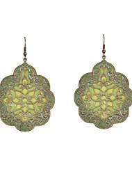 Earring Drop Earrings Jewelry Women Wedding / Party / Daily / Casual / Sports Alloy / Enamel 2pcs