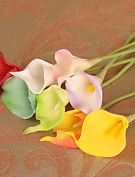 Silk / Plastic Calla Lily Artificial Flowers