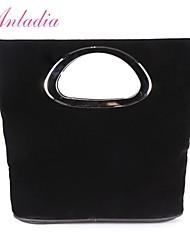 Anladia Ladies Faux Suede Leather Mini Handbag Party Clutch Bag Pouch Purse