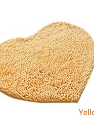 Casual Chenille  Cute Heart Carpet  110cm*120cm Bath Rugs