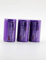BestFire 18350 3.7V 1100mAh Rechargeable Battery (3Pack)